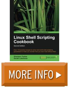 linux shell scripting cookbook pdf